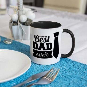 "Kubek z napisem ""You are best dad ever "" - super prezent dla taty."