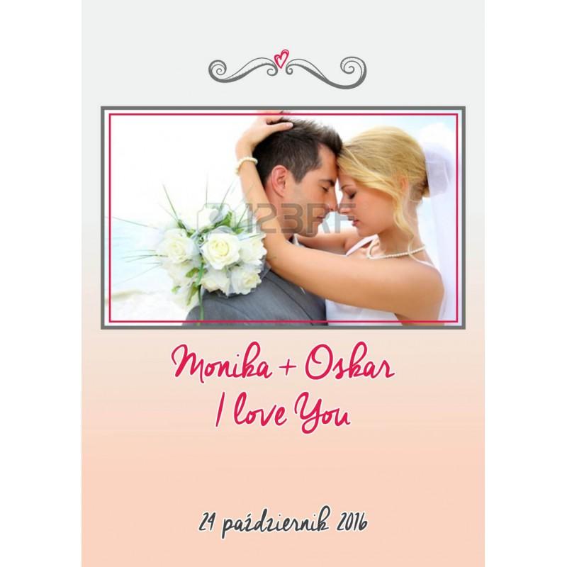Foto Kalendarz ze zdjęciami ślubny