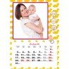 Foto Kalendarz ze zdjęciami dla młodych rodziców lub dziadków