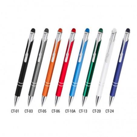 Touch pen Cosmo - długopis z końcówką do ekranów dotykowych.
