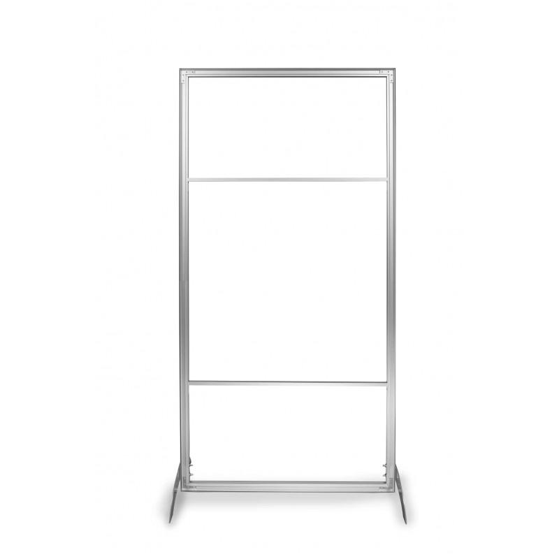 Stand reklamowy do prezentacji produktów firmowych - Profiler.
