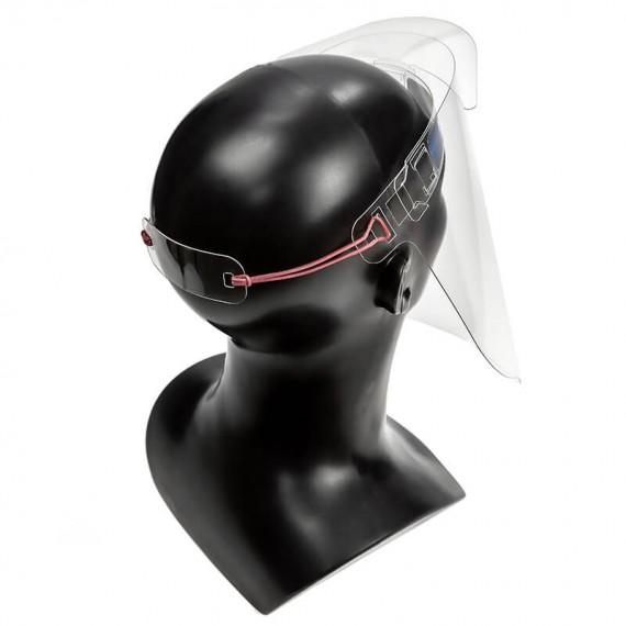 Przyłbica ochronna (osłona) na twarz - wielokrotnego użytku - wersja standard - P012-a.
