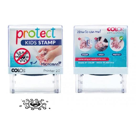 Pieczątka Protect Kids - chroń tych, których kochasz najbardziej.