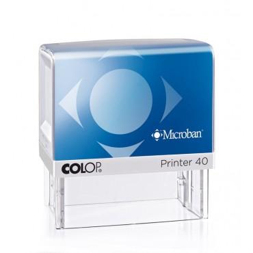 Pieczątka Colop Printer IQ 40 z powłoką antybakteryjną - Microban.