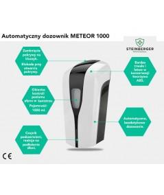 Dozownik bezdotykowy na płyn do dezynfekcji rąk - STEINBERGER METEOR 1000.
