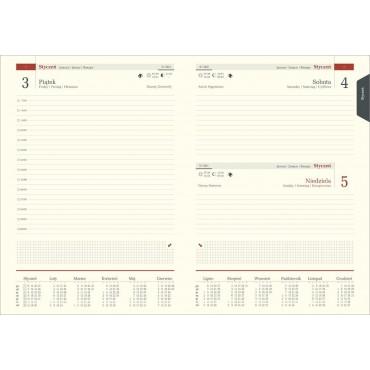 Kalendarz Magic Laser dzienny, A5 - idealny pod grawer laserowy.