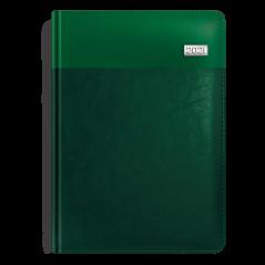 Kalendarz książkowy butelkowa zieleń