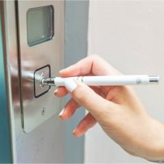 Długopis antybakteryjny spełniający normy ISO 22196.