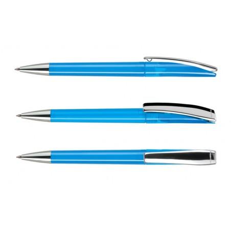 Długopis Evo Transparent Metal Clip