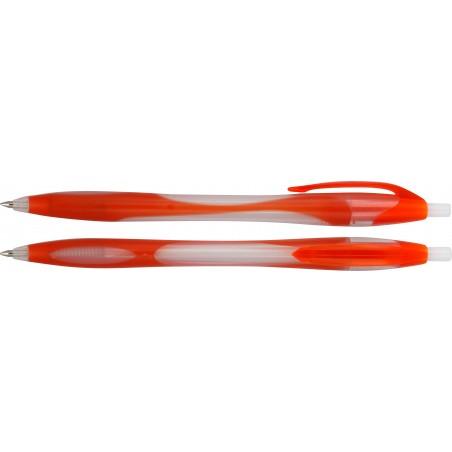 Długopis plastikowy z gumowymi dodatkami Umbra