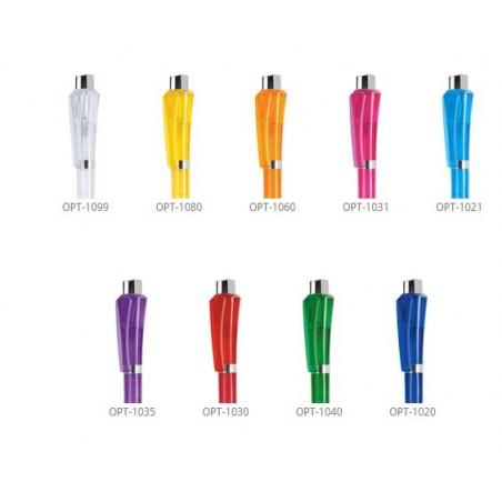 Długopis Optimus Transparent + Metal