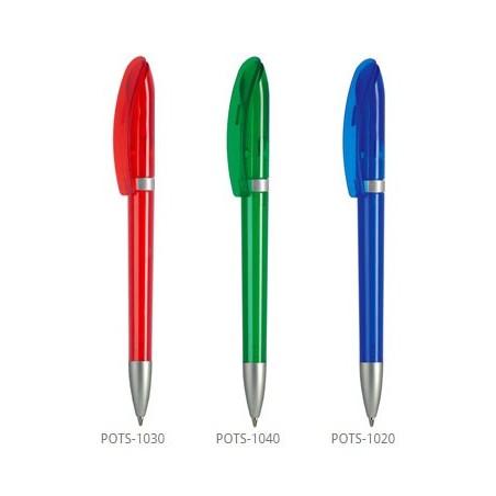 Długopis Polo Transparent + Satin