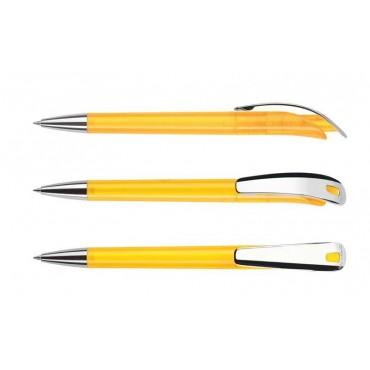 Długopis Focus Transparent Metal Clip