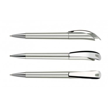 Długopis Focus Satin Metal Clip