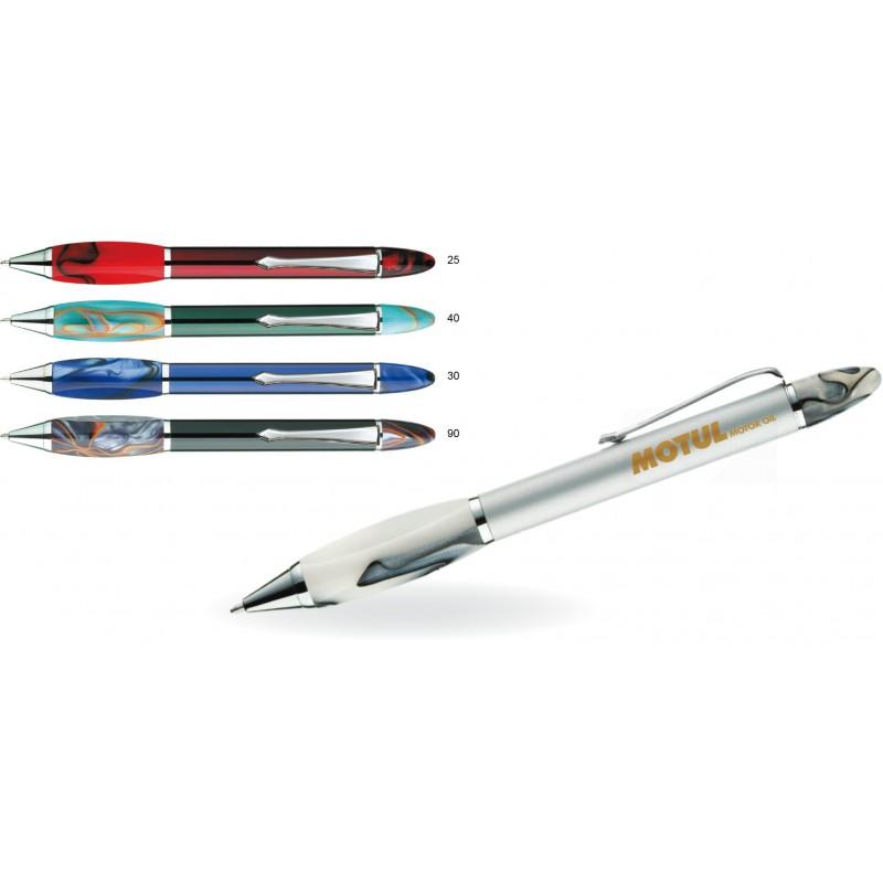 Metalowy długopis w ozdobnym opakowaniu Laylla