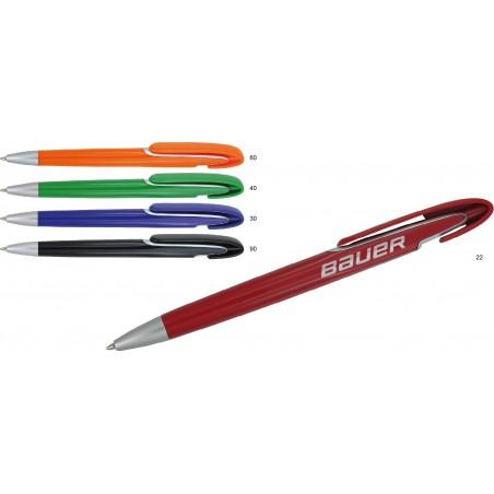 Atrakcyjny długopis plastikowy Hasty