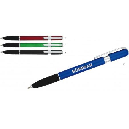 Długopis plastikowy z gumowym uchwytem Utara