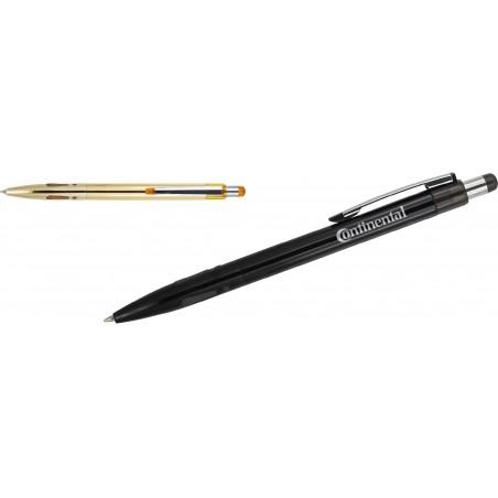 Długopis aluminiowy z gumowym uchwytem Grover