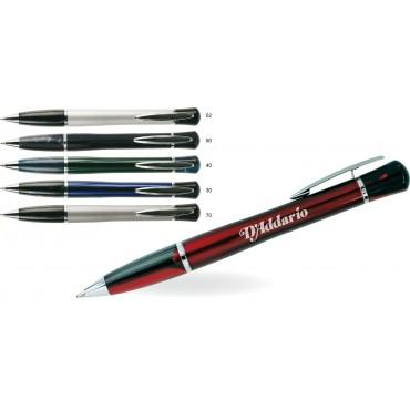 Metalowy długopis w ozdobnym opakowaniu Rusula