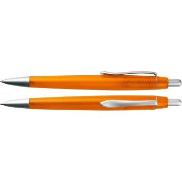 Długopis plastikowy z metalowym klipem Metrix 1