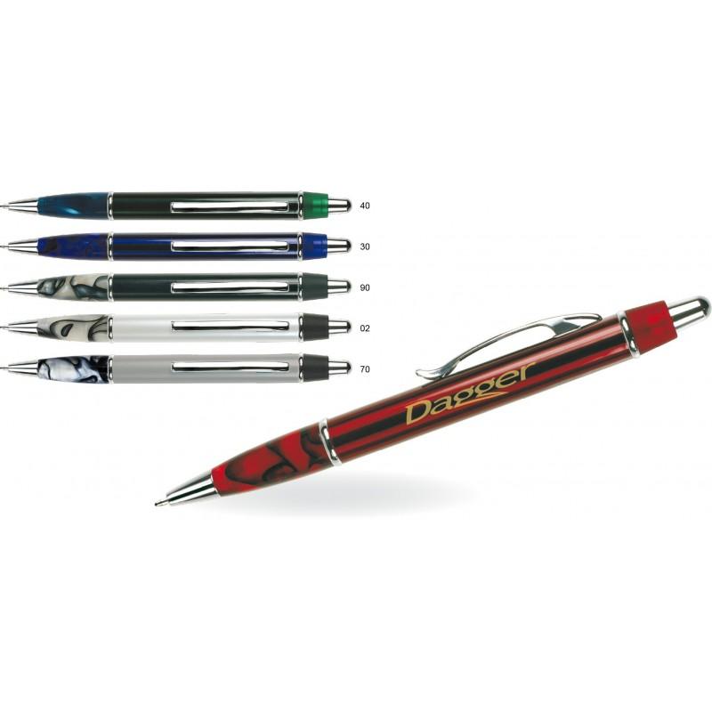 Metalowy długopis w ozdobnym opakowaniu Gener