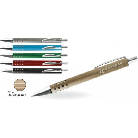 Długopis aluminiowy z chropowata powierzchnia Parri