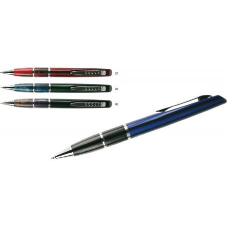 Metalowy długopis w ozdobnym opakowaniu Fouly