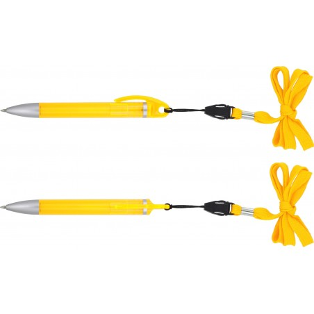 Długopis plastikowy ze smycza Rotanev