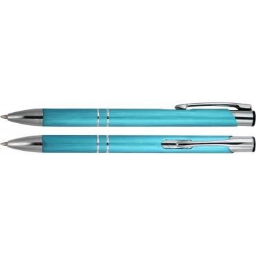 Długopis aluminiowy z chropowata powierzchnia Beneta