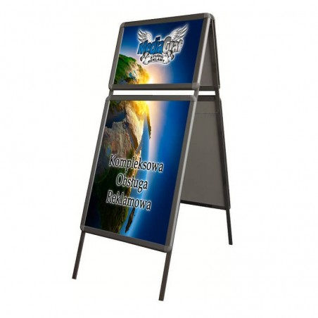 Potykacz reklamowy z nadstawką OWZ B2/B3.