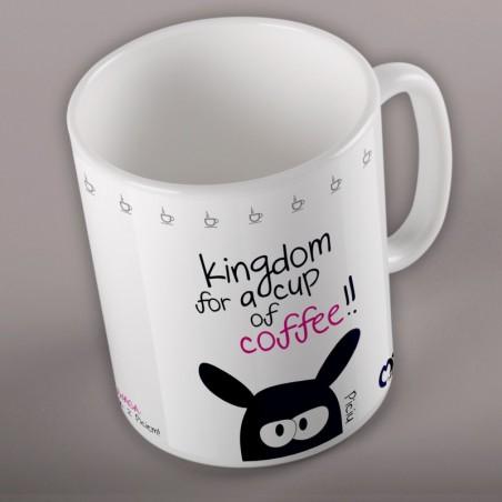 Foto Kubek z grafiką autorską kingdom caffe