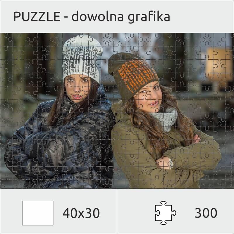Puzzle ze zdjęciem 30 x 40cm (300 el.)