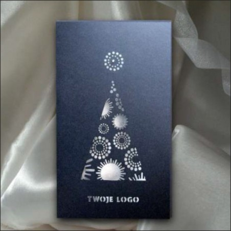 Kartka świąteczna - K470 z białą kopertą