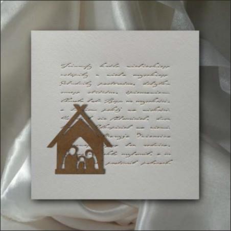 Kartka świąteczna - K552 z białą kopertą
