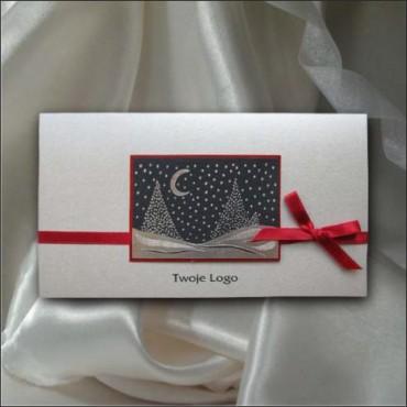 Kartka świąteczna - K454 z białą kopertą