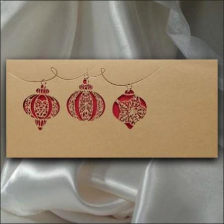 Kartka świąteczna - K550 z białą kopertą