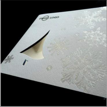 Kartka swiateczna | K516 z białą kopertą