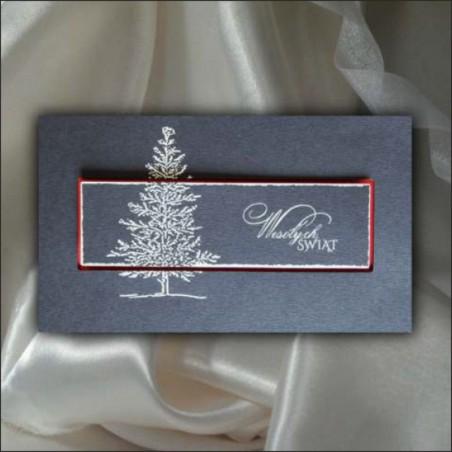 Kartka świąteczna - K548 z białą kopertą