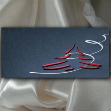 Kartka świąteczna - K501 z białą kopertą