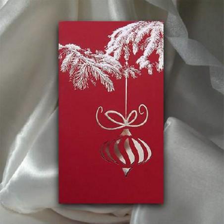 Kartka świąteczna - K509 z białą kopertą
