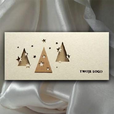 Kartka świąteczna   K540 z białą kopertą