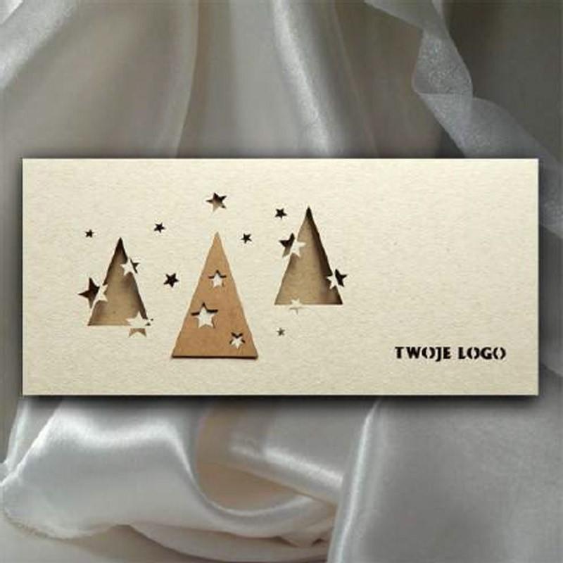 Kartka świąteczna | K540 z białą kopertą