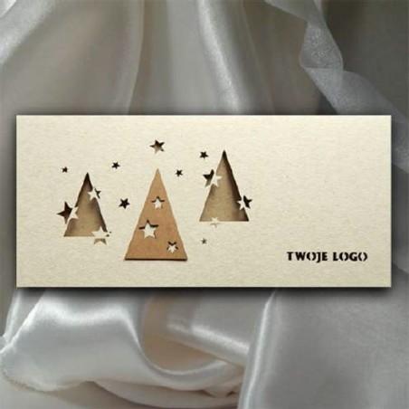 Kartka świąteczna - K540 z białą kopertą