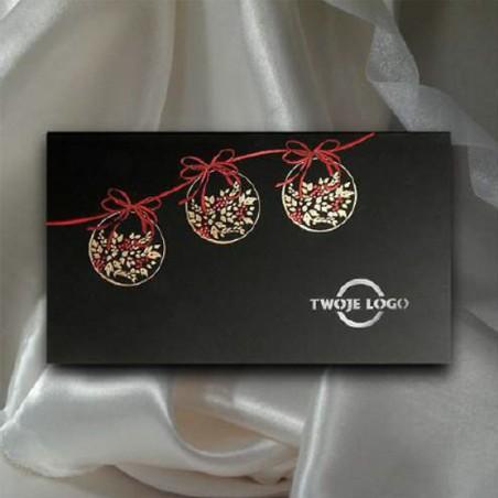 Kartka świąteczna - K522 z białą kopertą
