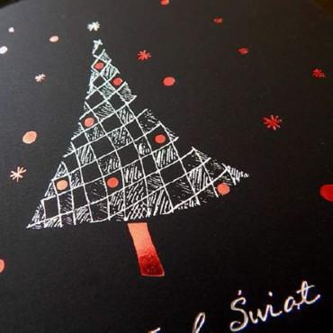 Kartka świąteczna | K521 z białą kopertą