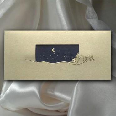 Kartka świąteczna - K513 z białą kopertą
