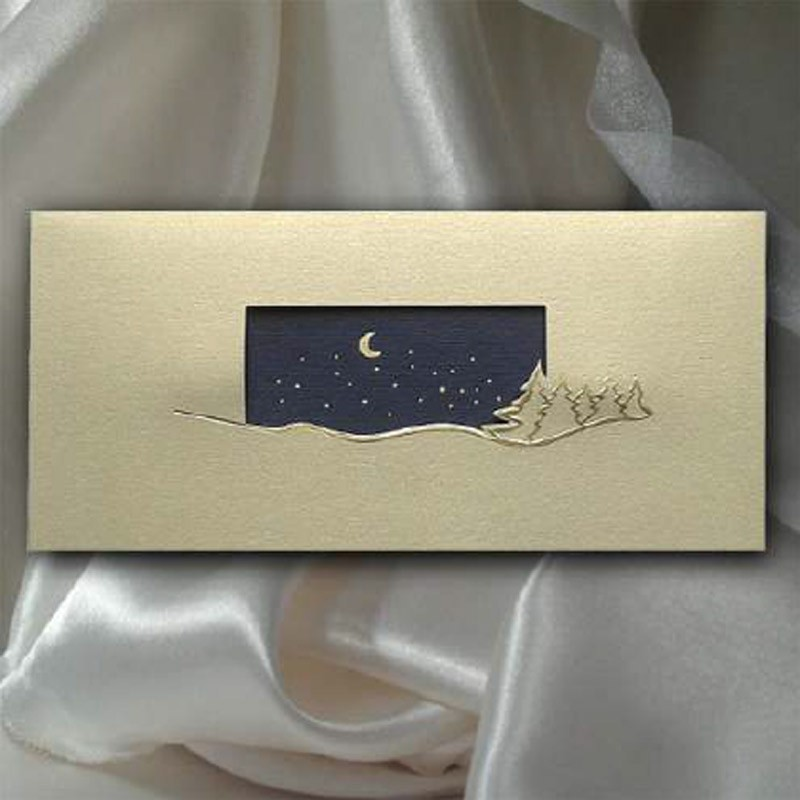 Kartka świąteczna | K513 z białą kopertą