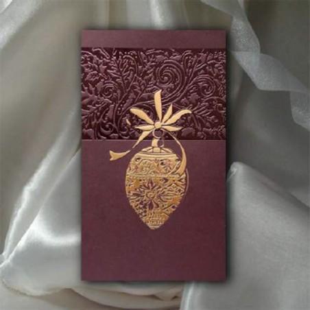 Kartka świąteczna - K545 z białą kopertą