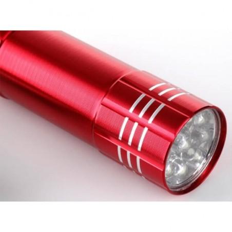 Latarka aluminiowa różne kolory, idealna pod grawer.