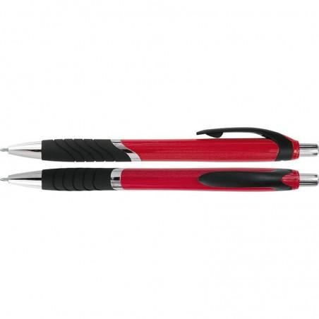 Długopis plastikowy z gumowym uchwytem Colmar